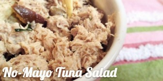 Featured Recipe: No-Mayo Tuna Salad