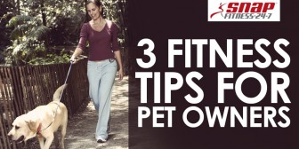 3 Fitness Tips For Pet Owners
