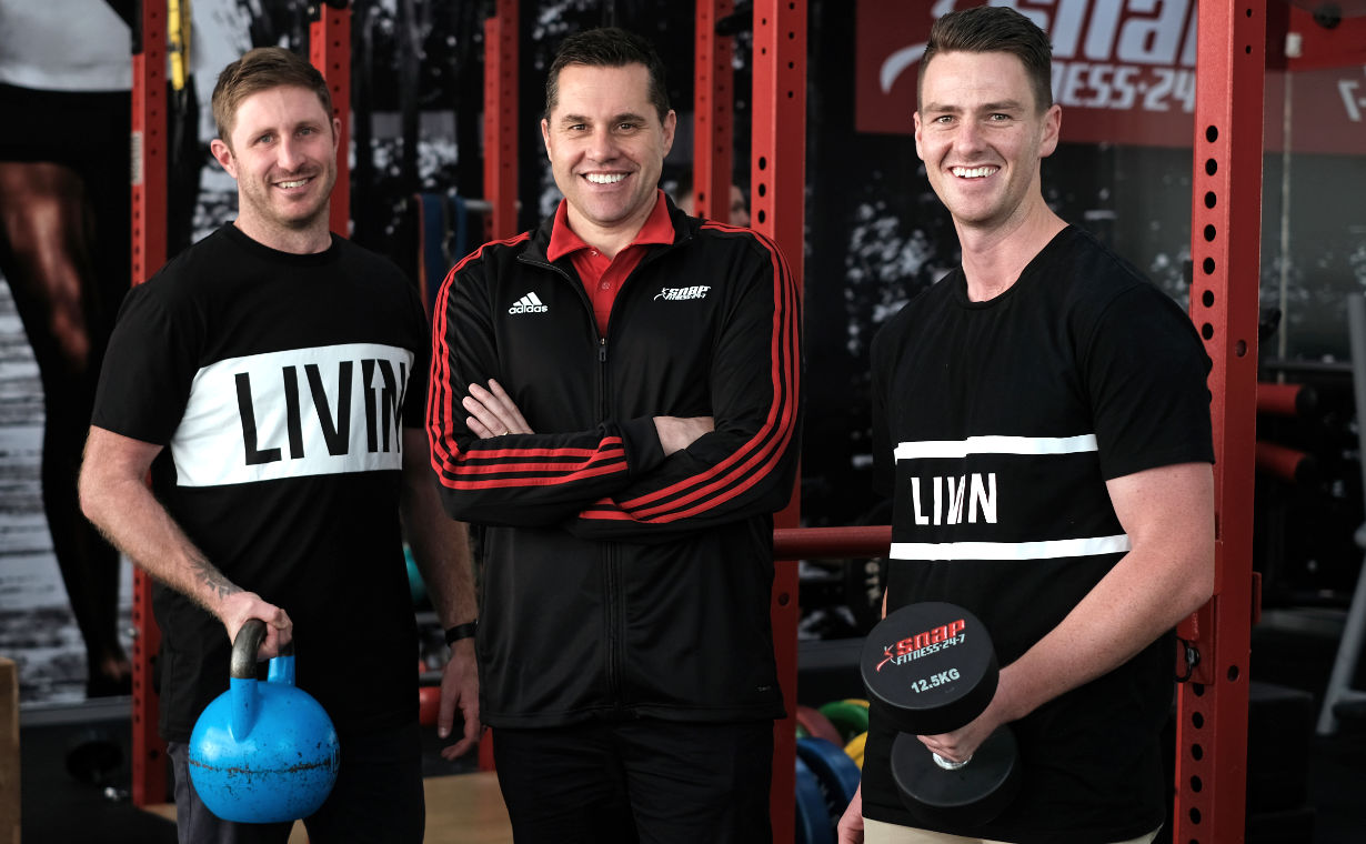Snap Fitness x LIVIN partnership announcement
