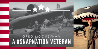 Greg Mooneyham- A #SNAPNATION Veteran