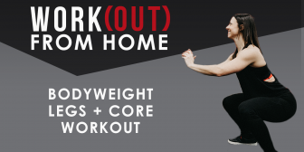 Bodyweight Lower Body + Core