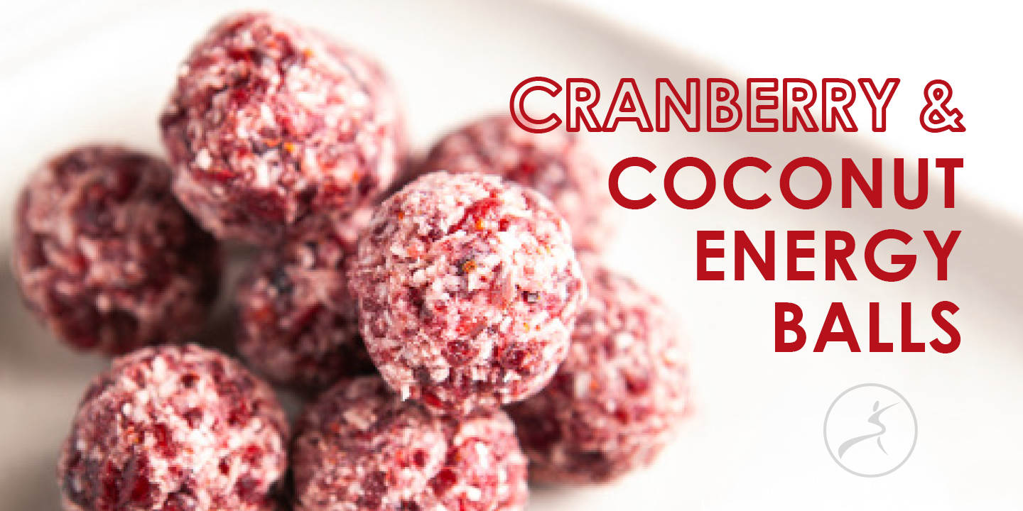 Cranberry & Coconut Energy Balls