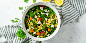 Lemony Summer Pasta Salad