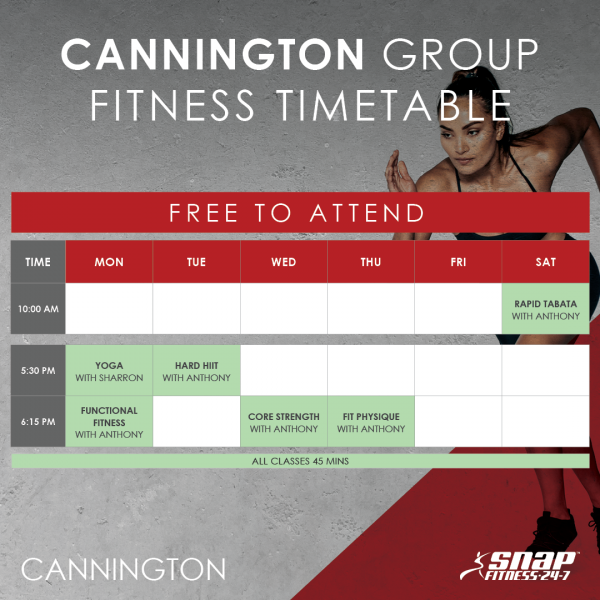 20180514 Cannington Timetable FB