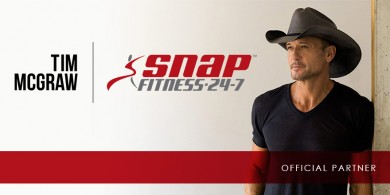 Snap Fitness to Develop Custom Signature Clubs with Superstar Tim McGraw